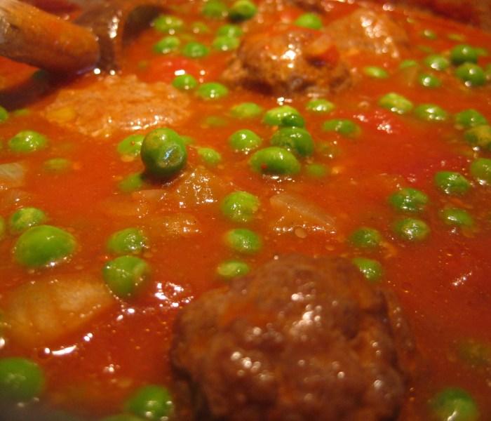 Cosy Lamb Meatballs