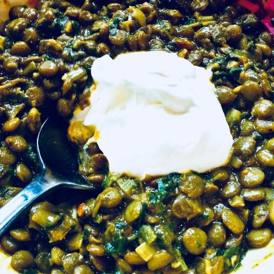 Green Lentil Dhal