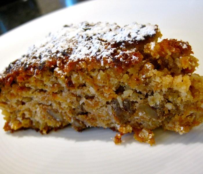 Flourless Carrot and Walnut Cake