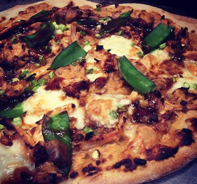 Chicken Satay Pizza