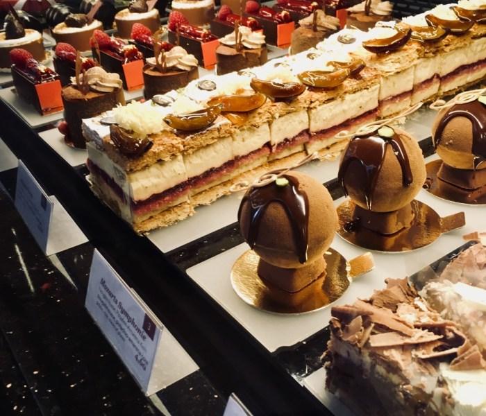 Sachertorte and Sausage in Vienna