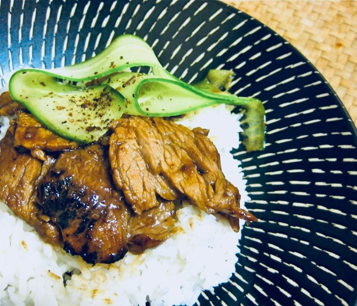 Sweet Hoisin Pork