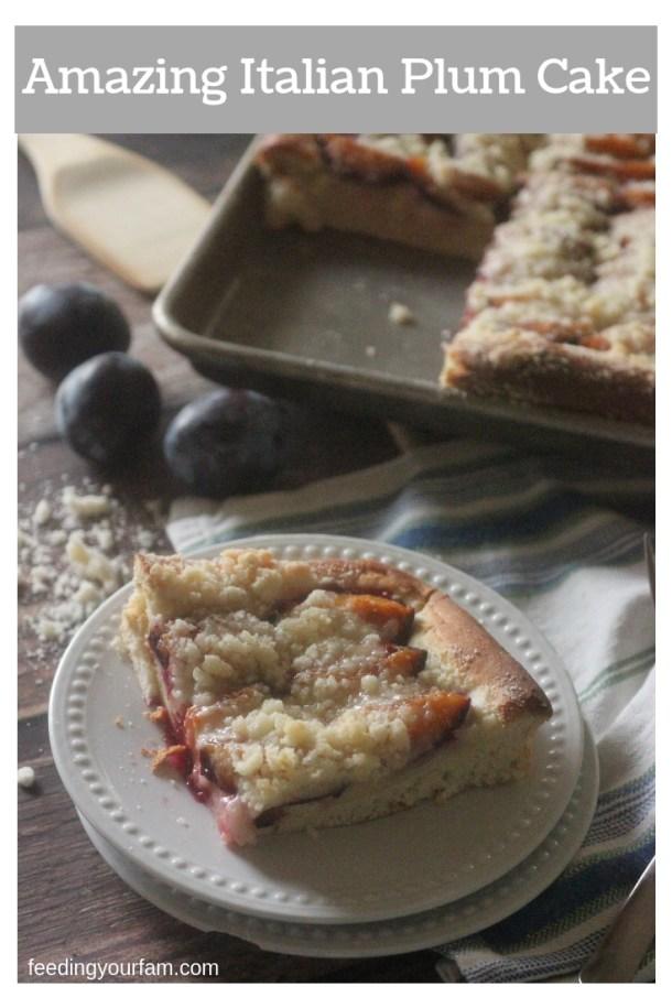 Italian Plum Cake