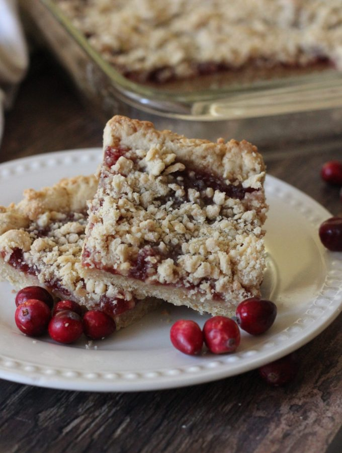 Cranberry Granola Bars