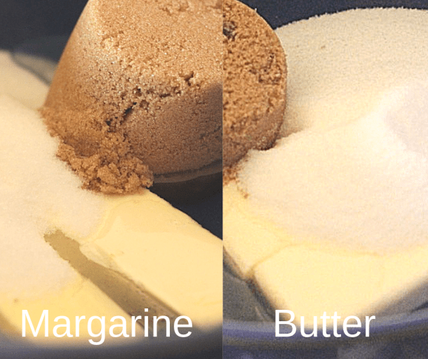 Margarine vs Butter caramels