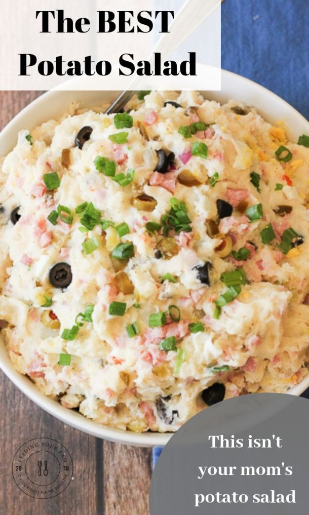 potato salad image with text