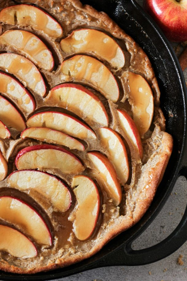 cast iron german pancake