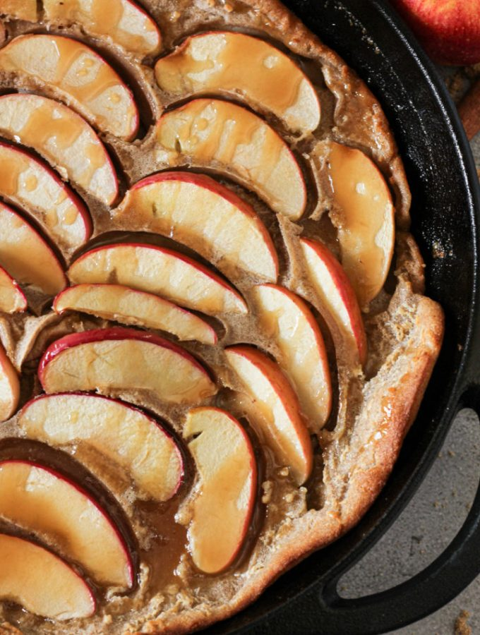 cast iron german pancake