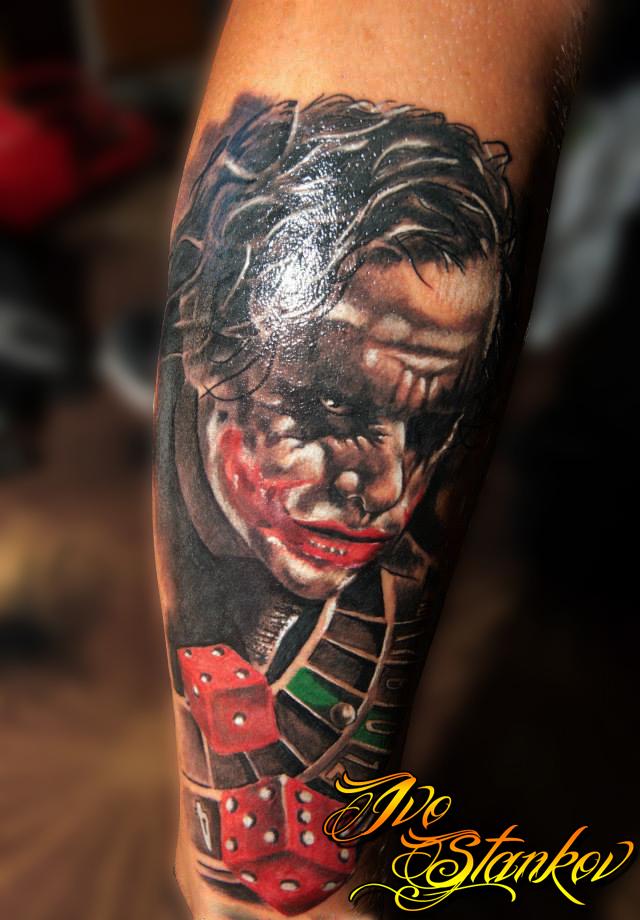 Best Joker Tattoo Designs