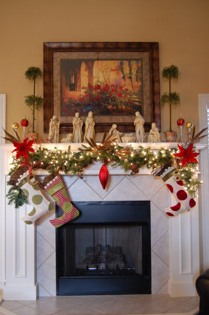 27 Christmas Fireplace Decoration Ideas To Try Feed Inspiration