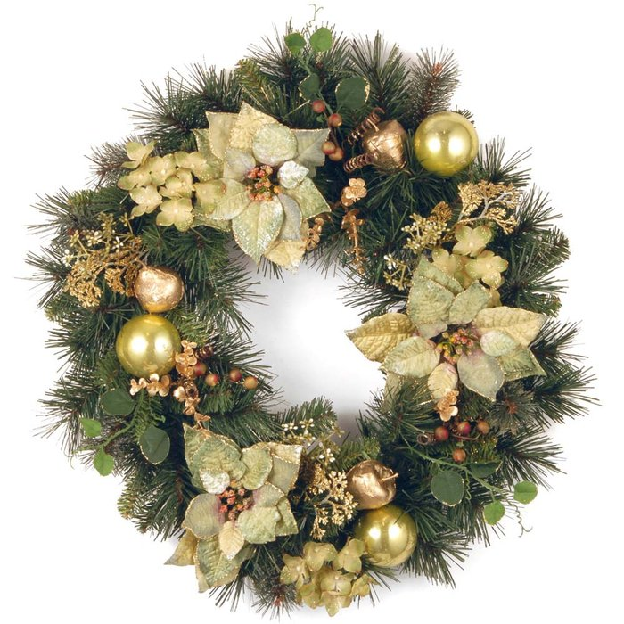 30 Christmas Wreaths Decorating Ideas To Try Now Feed Inspiration