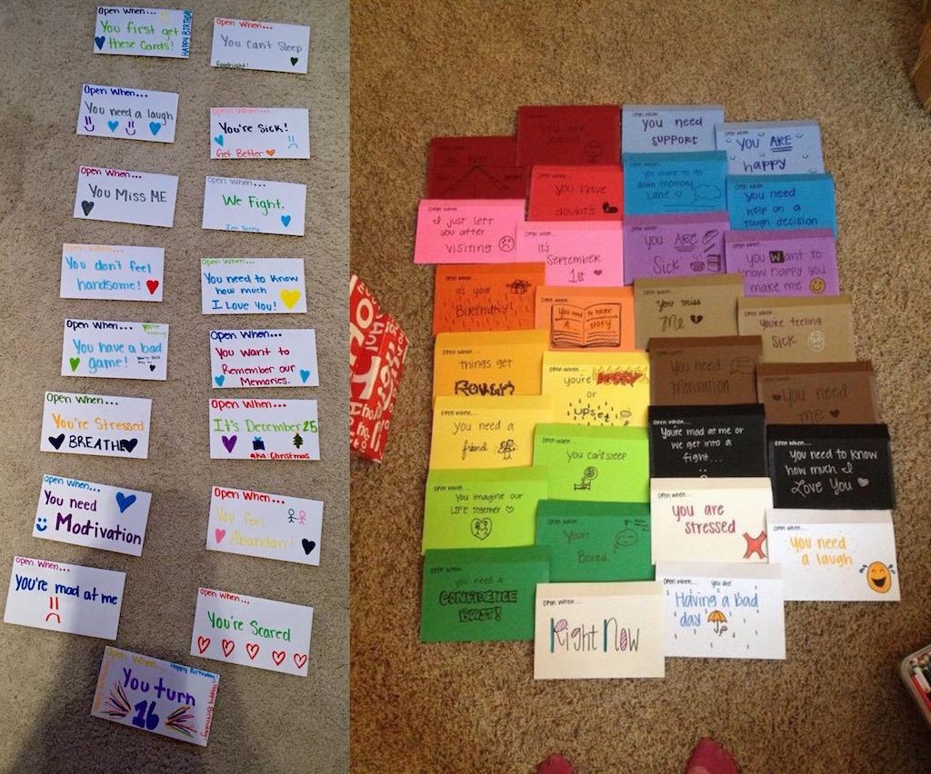 Friends Letters Christmas