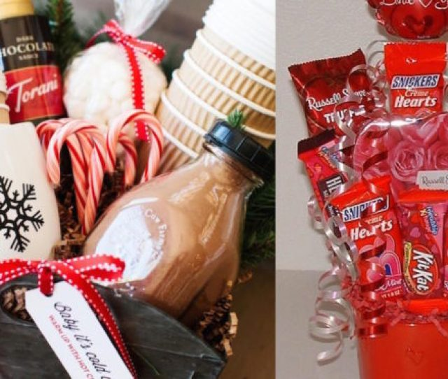 Diy Romantic Gifts Basket For Valentines Day