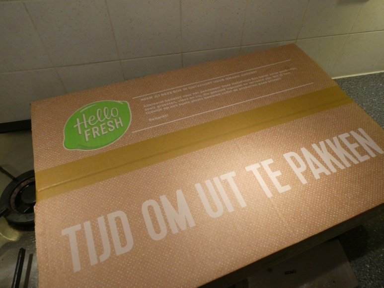 De HelloFresh box