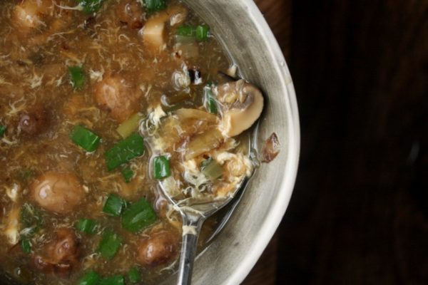 Mushroom Hot and Sour Soup | Healthy and Gluten-Free