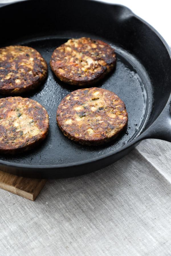 Easy Veggie Taco Pie with Tortillas, Sweet Potato, Kale and Beans | Recipe on www.feedmephoebe.com