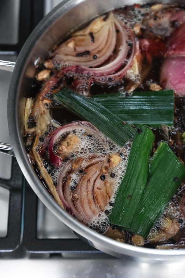 Vegetable Biryani Broth Recipe | www.FeedMePhoebe.com