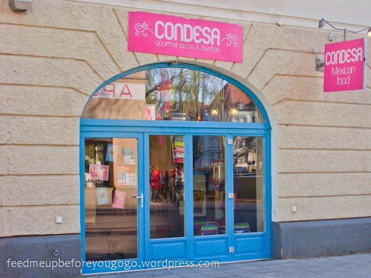 Condesa mexikanisch essen in München