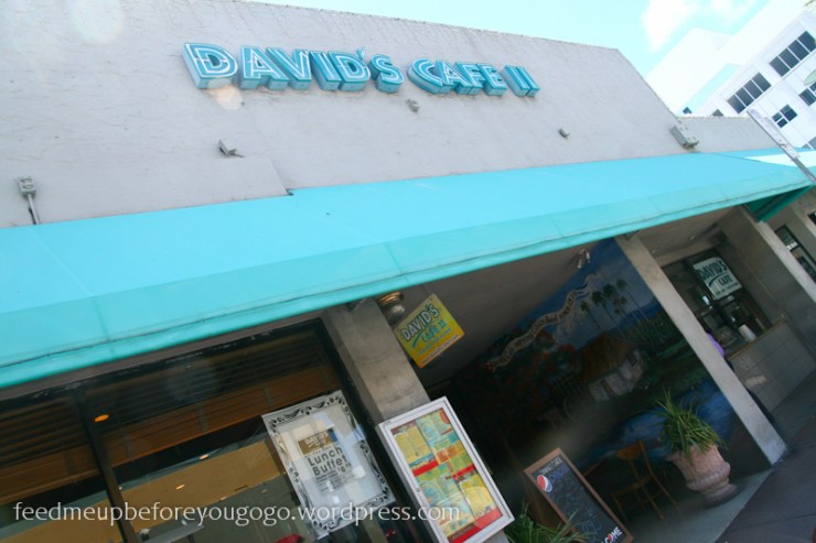 David's Café II Miami South Beach Food Tour