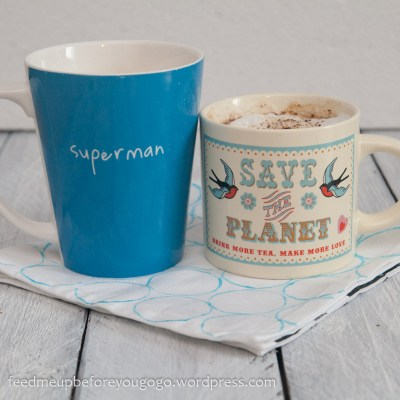 Kaffeetassen Superman Save the Planet