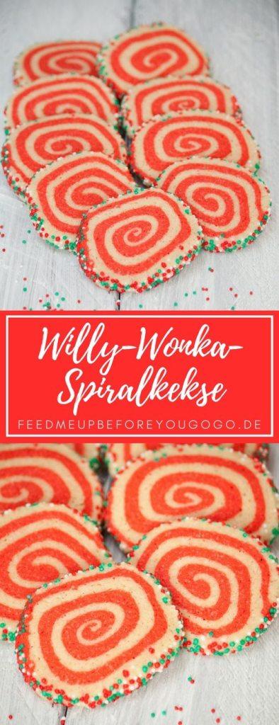 Willy Wonka Spiralkekse mit Vanille Rezept