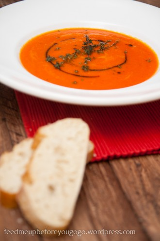 Paprika-Schalotten-Süppchen Rezept