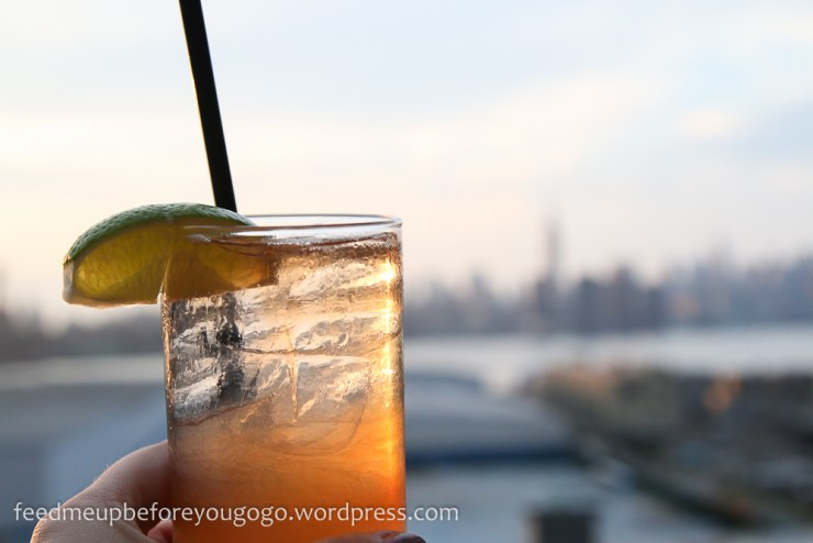 Drink Wythe Hotel The Ides Rooftop Williamsburg New York kulinarische Tipps Brooklyn