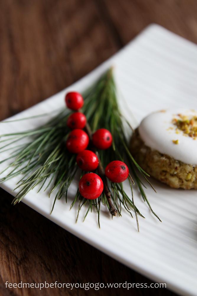 Pistazien-Baiser-Plätzchen Rezept Weihnachtsgebäck