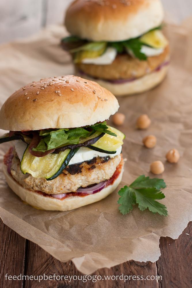 nordafrikanische burger vegetarisch und mit hühnchen | feed me up ... - Nordafrikanische Küche