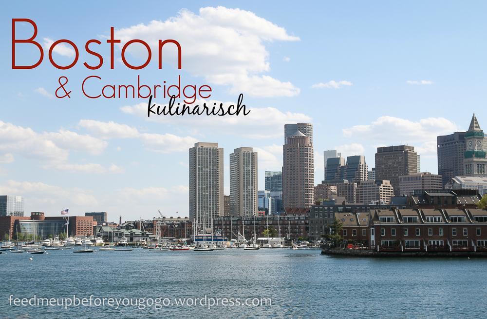 Entering New England: Boston & Cambridge kulinarisch   Feed me up ...