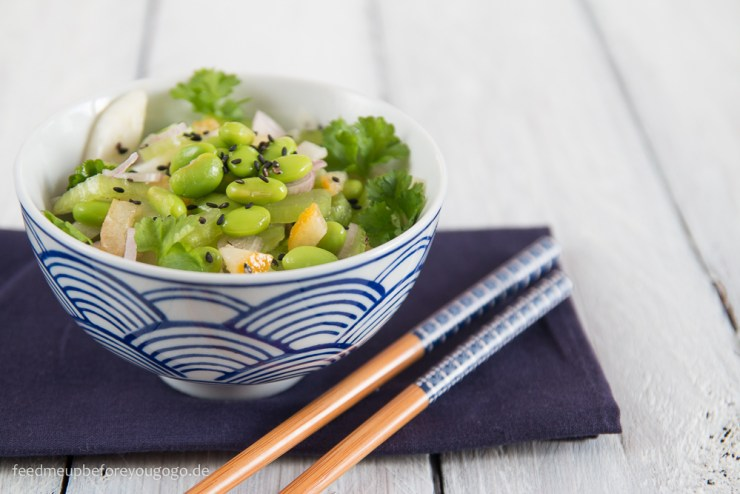 Edamame-Fenchel-Salat mit Sellerie und kandierten Zitronen Rezept Feed me up before you go-go-2