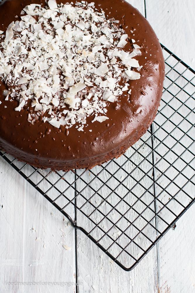 Schoko-Kokos-Kuchen Jamaica-Torte Rezept Feed me up before you go-go-2