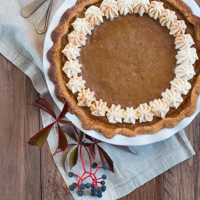 Pumpkin Pie Kürbis-Tarte Rezept
