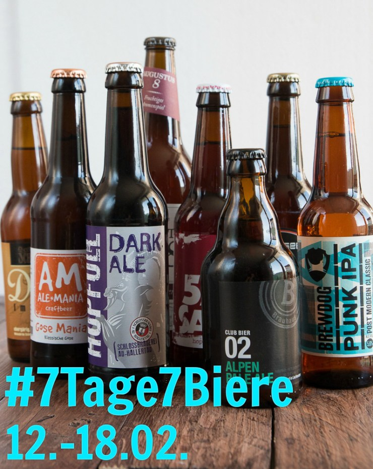 7 Tage 7 Biere #7Tage7Biere Craft-Bier-Tasting Feed me up before you go-go