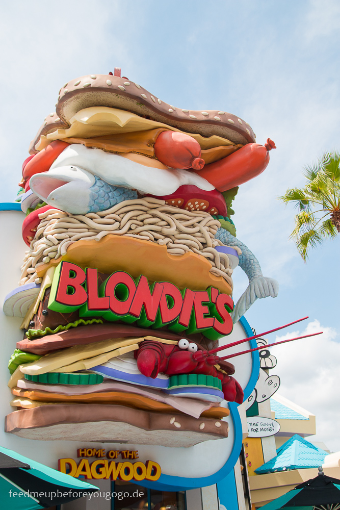 Blondie's Islands of Adventure Universal Studios Orlando