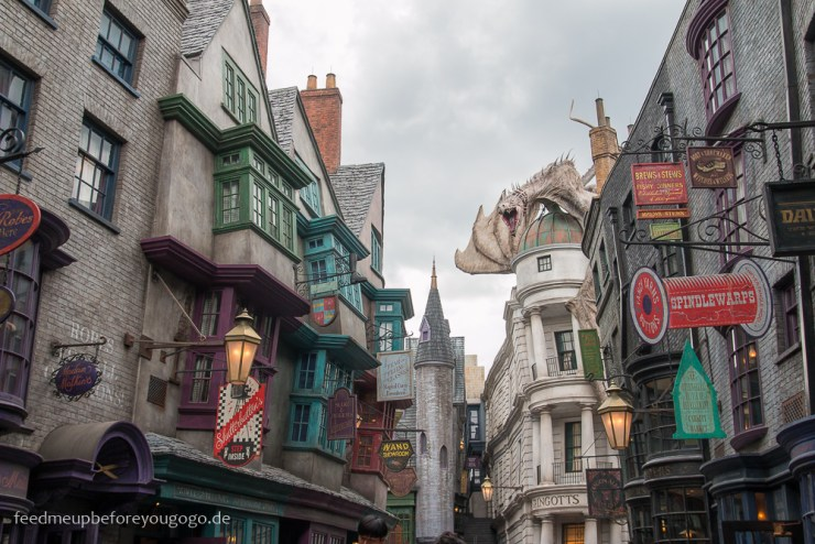 Diagon Alley Harry Potter Universal Studios Orlando