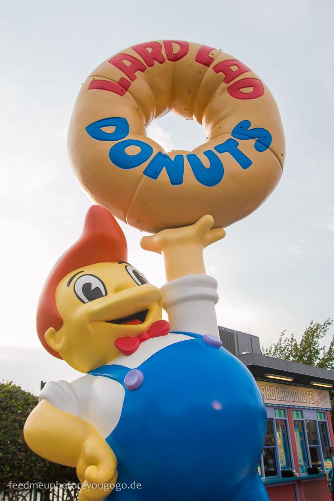 Lard Lad Donuts Simpsons Universal Studios Orlando