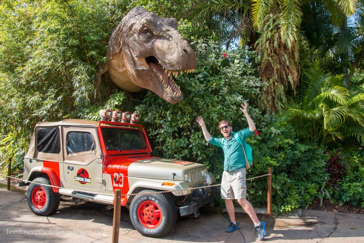 Jurassic Park T-Rex Islands of Adventure Universal Studios Orlando