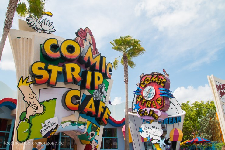 Comic Strip Cafe Islands of Adventure Universal Studios Orlando