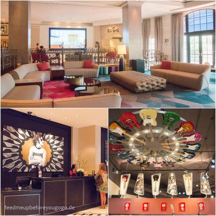 Hard Rock Hotel Orlando Florida Lobby