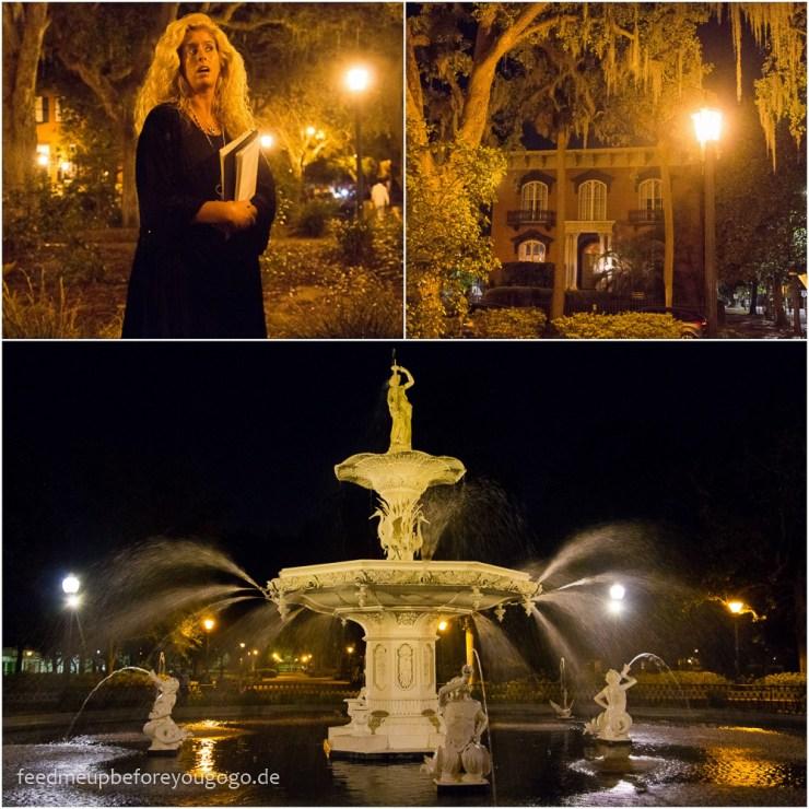 Savannah Georgia Sixth Sense Ghost Tour Südstaaten