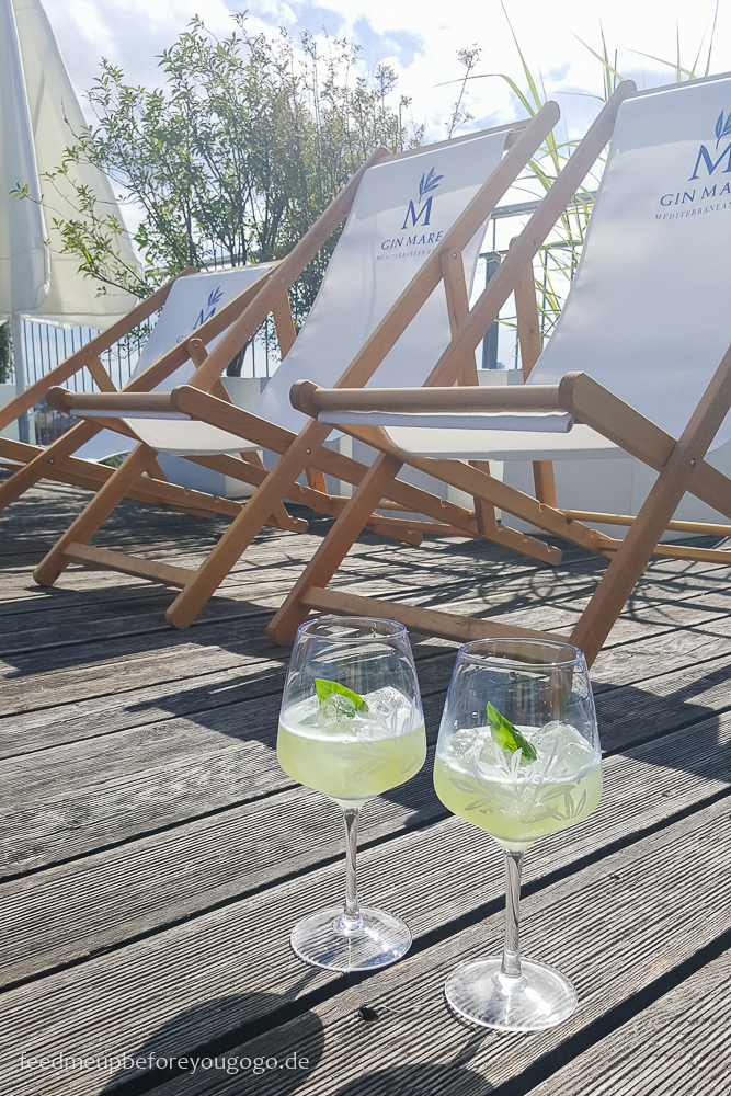 Gin Mare Med Rooftops München Event Basil Smash