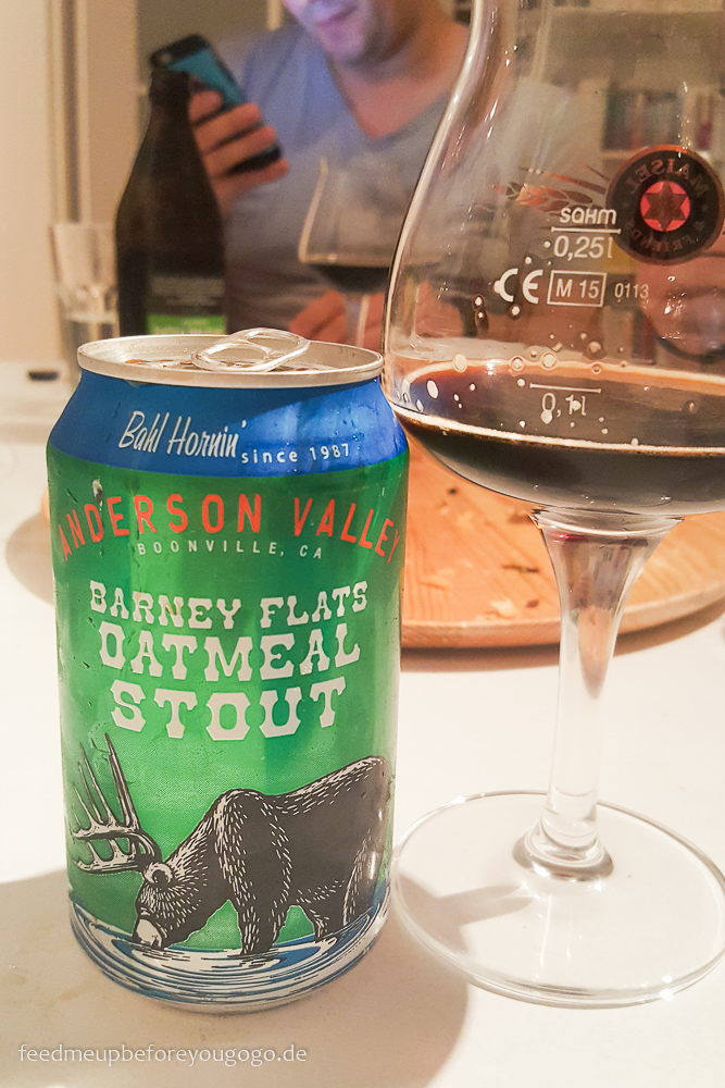 Bier des Monats: Barney Flats Oatmeal Stout Craft-Beer-Tasting Feed me up before you go-go
