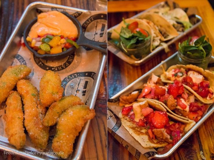 Avocado Fries Tacos Treylor Park Savannah kulinarisch Food Guide