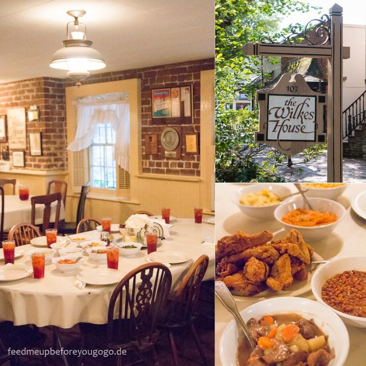 Mrs Wilkes Dining Room Savannah: Kulinarisch Durch Savannah, Georgia: Südstaatenklassiker