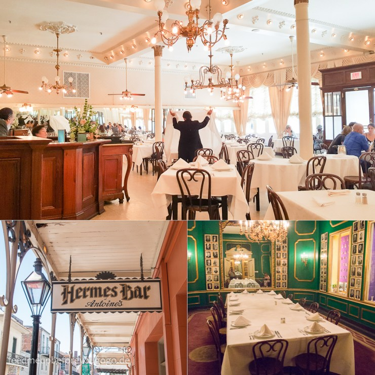 New Orleans Antoine's Restaurant French Quarter kulinarische Tipps Food Guide