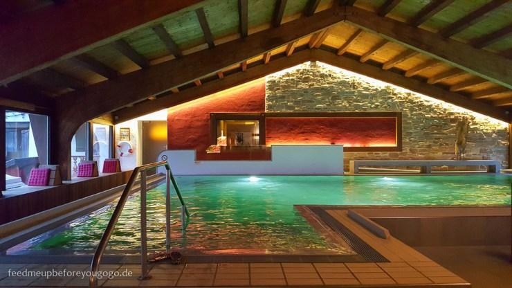 Berghotel Rehlegg Ramsau Hallenbad SPA Winter und Wellness im Berchtesgadener Land