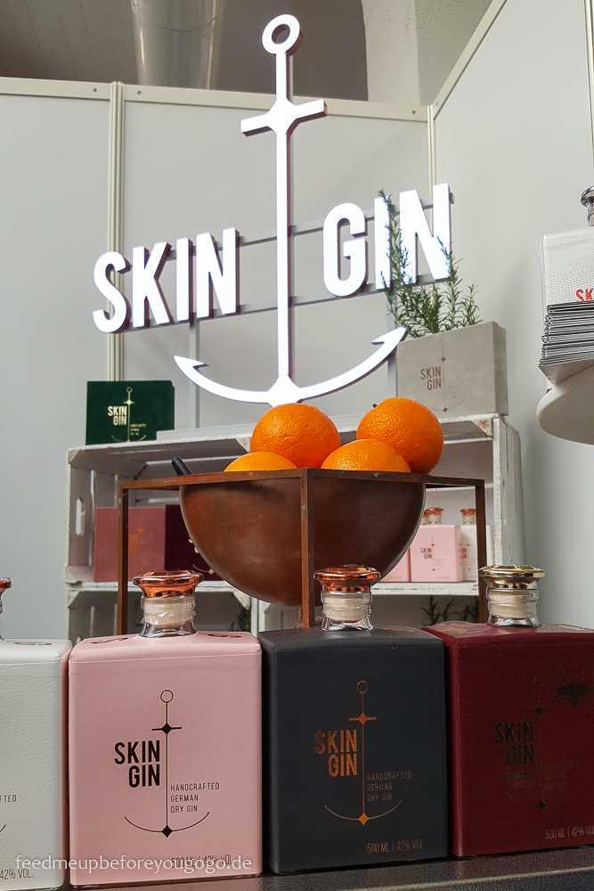 Skin Gin Finest Spirits 2018 Spirituosenmesse