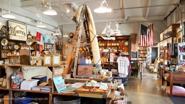 White's Mercantile Shopping Nashville Tennesse Reisetipps Feed me up before you go-go
