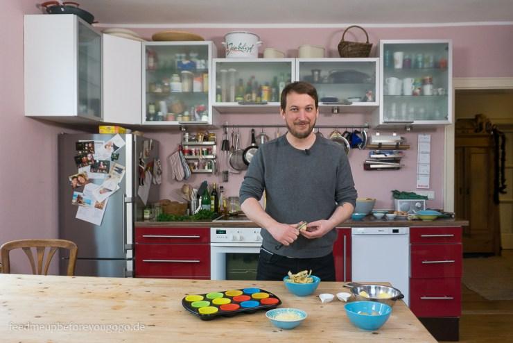 Dreh für ZDF Drehscheibe Küchenträume Steffen Jost